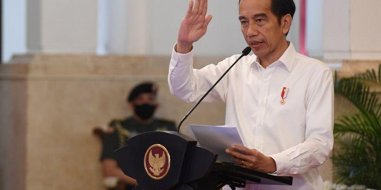 Jokowi Resmi Luncurkan Bantuan Produktif untuk Usaha Kecil