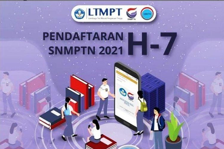 H-7 pendaftaran SNMPTN 2021, info LTMPT.