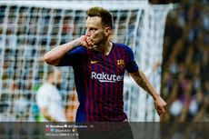 Real Madrid Vs Barcelona, Gol Ivan Rakitic Menangkan Blaugrana