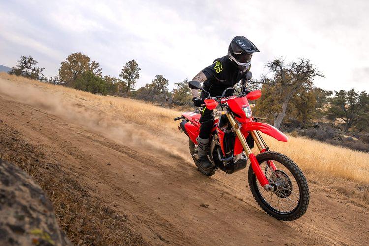 Motor trail Honda CRF450RL