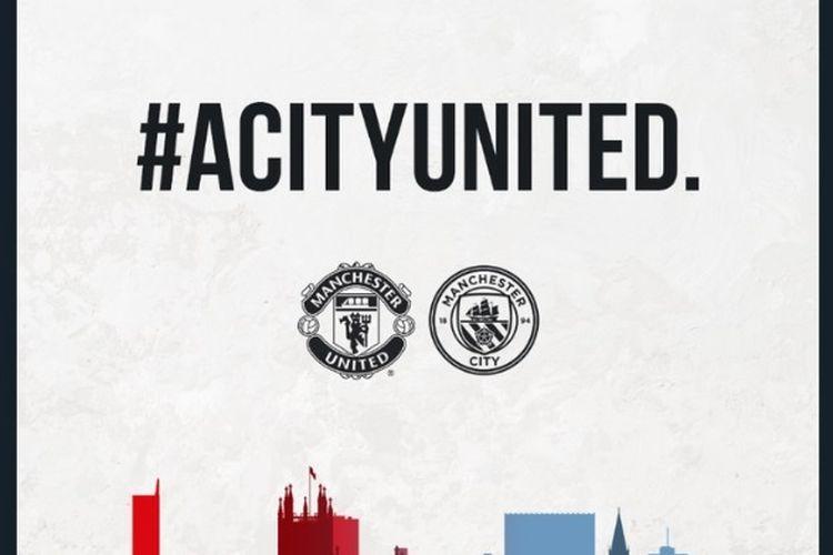Manchester United dan Manchester City.