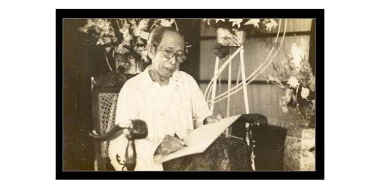 Ki Hajar Dewantara diabadikan 11 Maret 1959, sebulan sebelum meninggal.