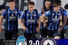 Atalanta Vs Sassuolo, Menang, La Dea Kali Pertama ke Liga Champions