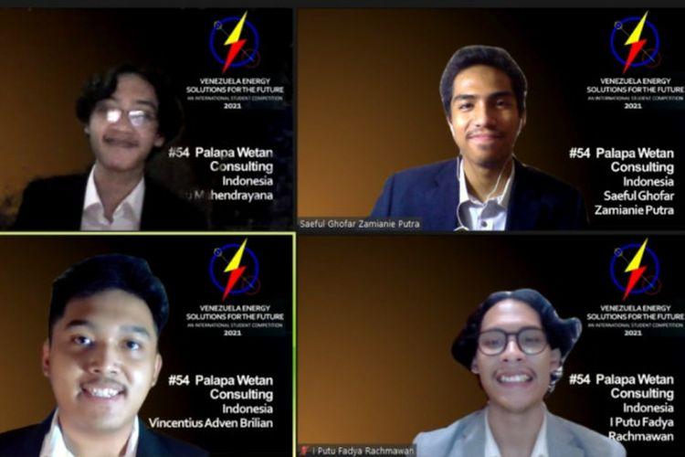 Mahasiswa UGM Juara Kompetisi Energi Tingkat Internasional