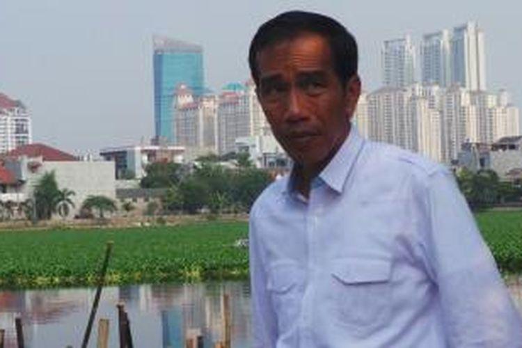 Gubernur DKI Jakarta Joko Widodo.