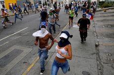 Venezuela Dilanda Kerusuhan Massal, Dua Pelajar dan Satu Aparat Tewas