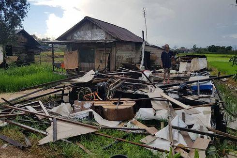 Puting Beliung Terjang 3 Desa di Martapura Kalsel, Puluhan Rumah Warga Rusak