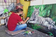 Seniman Lukis Jelekong Bertahan di Tengah Badai