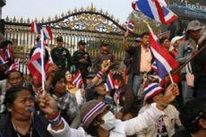 Pengunjuk Rasa Thailand Blokir Pemilu Awal