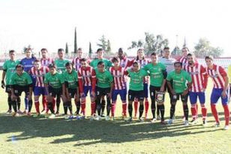 Indonesia XI dan Skuad Atletico Madrid.