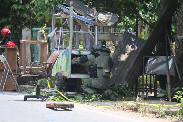 Polda dalami penyelidikan terkait ledakan di rumah warga
