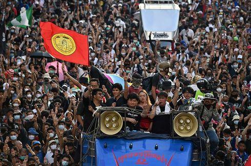 Demo Thailand Mirip Demo Hong Kong, Ini 5 Kesamaannya