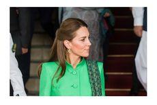 Melihat Tatanan Rambut Cantik Kate Middleton Saat di Pakistan