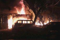 Bengkel Mobil di Lenteng Agung Terbakar, Diduga karena Bakar Sampah