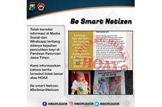 Beredar Informasi Penculikan Bayi di Pasuruan, Ini Penjelasan Polisi