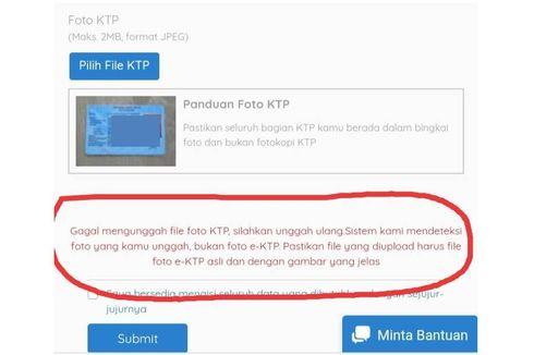 Foto KTP Tidak Terdeteksi Saat Daftar Kartu Prakerja, Cek Sudah E-KTP atau Belum?