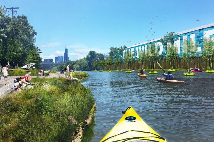 Proyek ini nantinya juga akan meningkatkan kualitas air kanal dan sungai di sekitar wilayah tersebut.