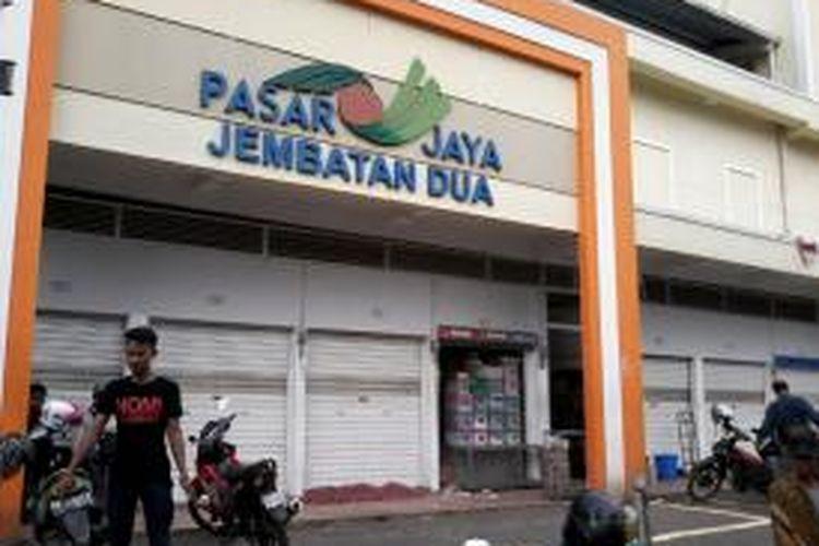 Pasar Jaya Jembatan Dua, Jakarta Barat.