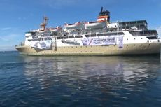 Kapal Sirimau, Tempat Isoter di Sorong Mulai Beroperasi, Rawat 15 Pasien Tanpa Gejala