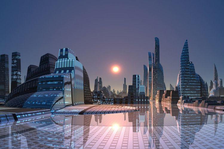 Proyek kota paling futursitik Arab Saudi, Neom.