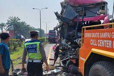 4 Bus Terlibat Kecelakaan Beruntun di Tol Tangerang-Merak, Sopir Tewas, Belasan Orang Luka-luka