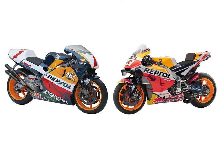 Honda NSR500 dan RC213V