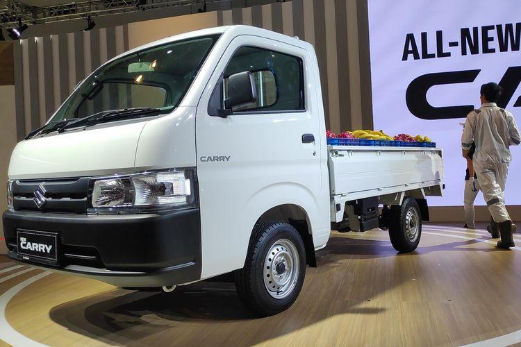 Suzuki resmi meluncurkan generasi terbaru pikap Carry di IIMS 2019.