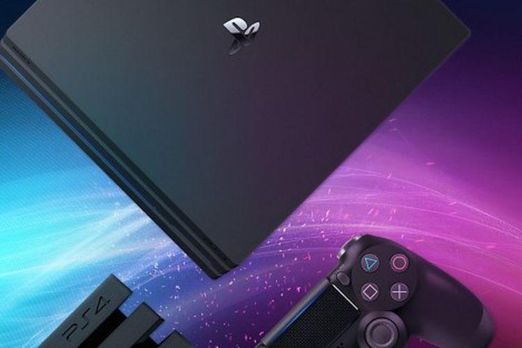 Ilustrasi PS4.