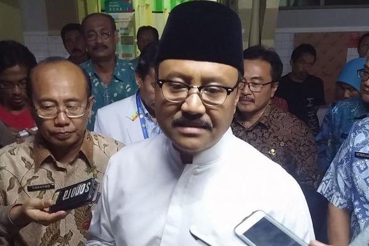 Wagub Jatim, Saifullah Yusuf inspeksi ke RSU dr Soetomo Surabaya, Selasa (24/1/2017) sore
