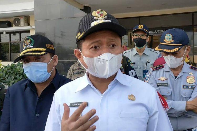 Bupati Sumedang, Dony Ahmad Munir.