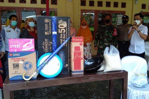 Ikut Vaksinasi Covid-19 di Purbalingga, Warga Dapat Doorprize Kambing hingga Kompor