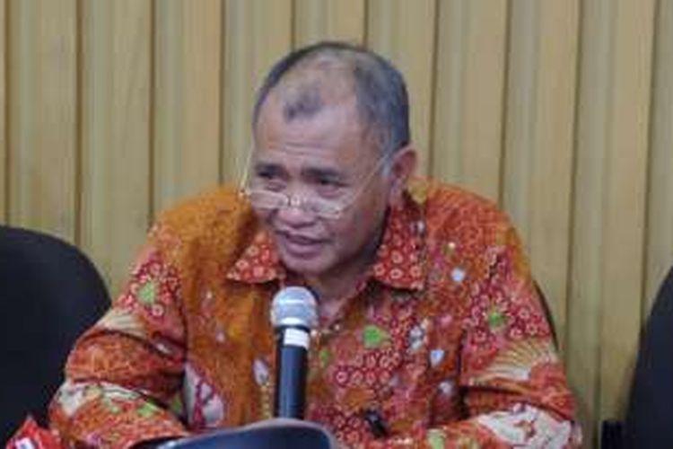 Ketua KPK Agus Rahardjo di Gedung KPK Jakarta, Kamis (10/11/2016).