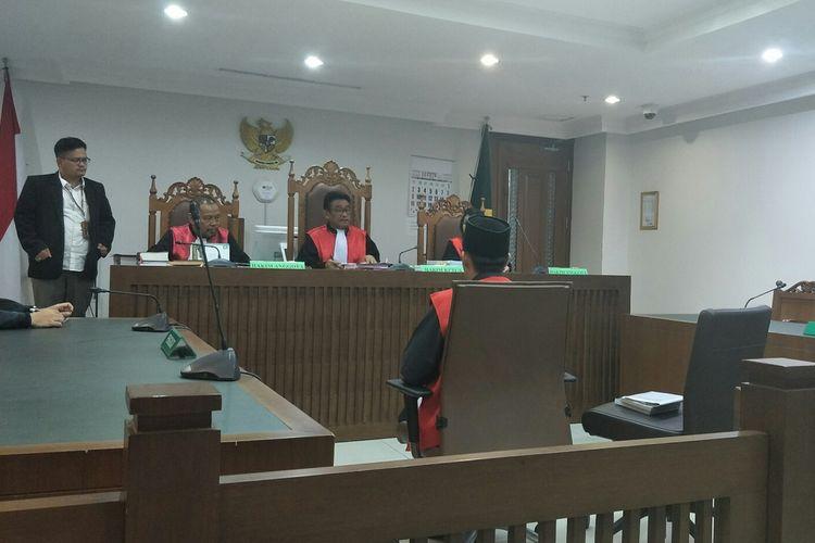 Sidang terdakwa kerusuhan 21-22 Mei 2019, di Pengadilan Negeri Jakarta Pusat, Kamis (29/8/2019).