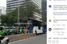 Transjakarta Puji Pengemudi yang Tak Mengalah terhadap Pemotor yang Lawan Arah