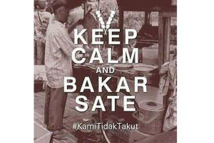 Netizen membagi meme guyonan pasca bom Sarinah Thamrin, Kamis (14/1/2016)