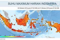 BMKG: Suhu Panas di Jakarta dan Sekitarnya Masih Akan Berlangsung Seminggu ke Depan