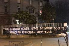 Dukungan Nyata Ultras PSG ke Warga Paris di Tengah Pandemi Covid-19