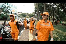Nyamar Jadi Pasukan Oranye, Ashanty Geram Ada yang Buang Sampah Sembarangan