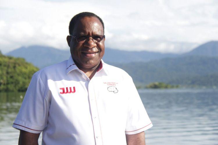 Bupati Jayawijaya John Wempi Wetipo.