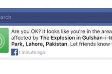 Fitur Pelacak Korban Bom Pakistan Bermasalah, Facebook Minta Maaf