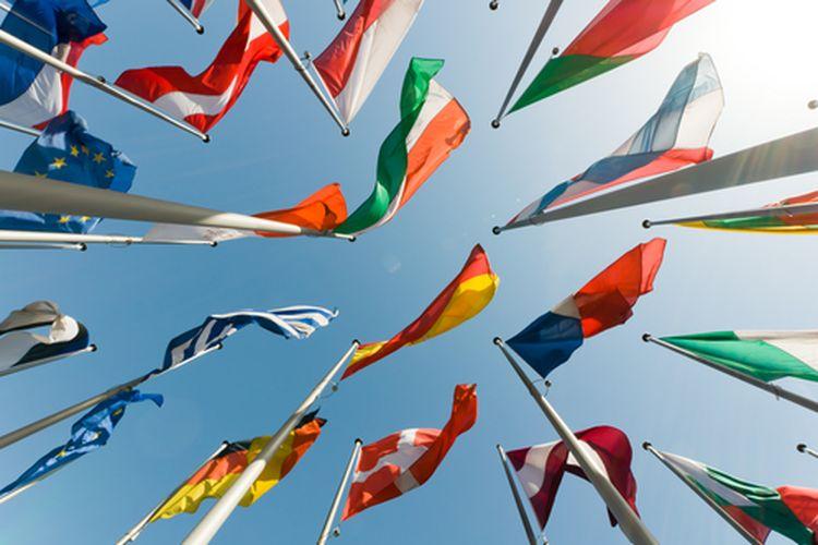 Ilustrasi bendera negara-negara