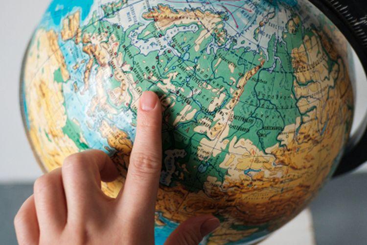ilustrasi globe