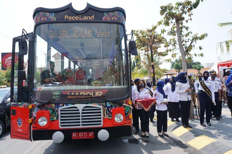 Tawarkan Destinasi dalam Kota, Pemkot Madiun Rilis Layanan Keliling Gratis Lewat Mabour Bus