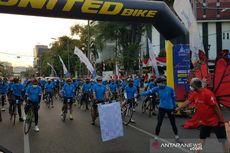 Tour de Borobudur 2020, Para Dokter Kampanyekan Protokol Kesehatan Sambil Gowes