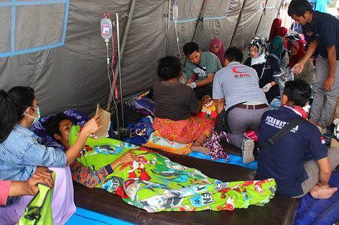 Pengungsi Gempa Lombok Mulai Diserang Diare