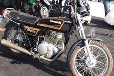 Motor Lawas Kawasaki Ini Ibarat