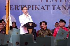 Jokowi Serahkan Lebih dari 2.000 Sertifikat Tanah bagi Masyarakat Aceh