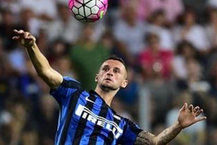 Gelandang Inter Milan asal Kroasia, Marcelo Brozovic.