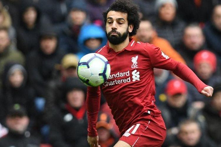 Mohamed Salah diperkirakan akan kembali merumput saat Liverpool menjalani partai pamungkas di Liga Inggris melawan Wolverhampton Wanderers, Jumat (10/5/2019)