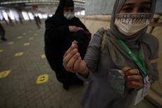 Haji 2021, Jemaah Lempar Jumrah dengan Kerikil Khusus